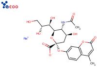 4-甲基香豆素基-α-D-唾液酸钠盐