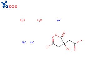柠檬酸钠,二水