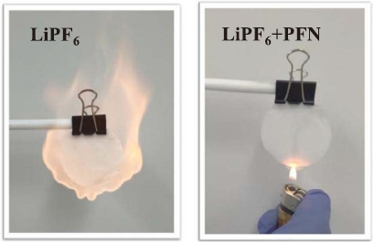 PFN as a flame retardant